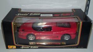 1/18 MAISTO SPECIAL EDITION FERRARI F50 RED