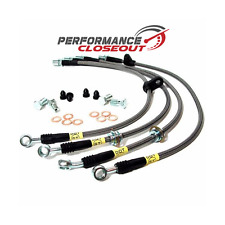 Stoptech Steel Braided Brake Lines 2004-208 Acura TSX Front & Rear Set