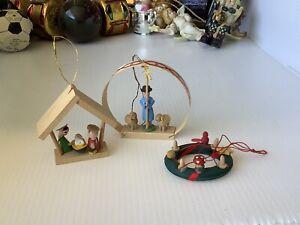 Vintage Christmas Ornaments/Decorations Mid Century Lot