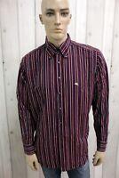 ETRO MILANO Camicia Taglia 2XL Uomo Cotone Shirt Chemise Casual Manica Lunga