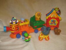 Fisher Price Little People Circus Train Play Set 2001