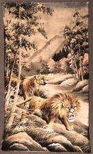 Antique Japanes Lion Embroidery