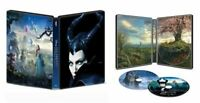 New Sealed Disney's Maleficent Steelbook 4K Ultra HD + Blu-ray + Digital Code