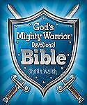 GOD'S MIGHTY WARRIOR DEVOTIONAL BIBLE BRAND NEW HARDCOVER BOOK Discounted PRICE!