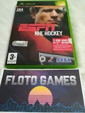 Jeu ESPN NHL Hockey pour X-Box XBOX PAL Complet CIB - Floto Games