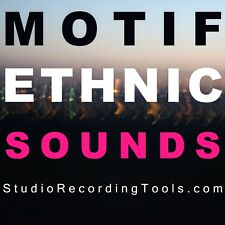 MOTIF Ethnic Instrument Samples Yamaha World Keyboard Es Xs Xf WAV Sounds DL NOW
