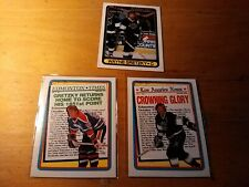 1990-91 O-Pee-Chee Wayne Gretzky #2,3,120 HOF Lot of 3 Different