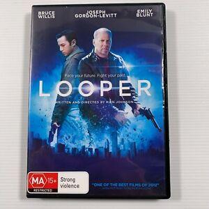 Looper (DVD, 2013) Joseph Gordon-Levitt, Bruce Willis Emily Blunt Region 4