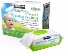 Kirkland Signature Tencel Ultra Soft Baby Wipes 900 Extra Large Wet Wipes