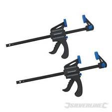 Lot 2 mini-presses rapides de 150 mm. Serre-joint écarteur réversible