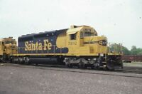 SANTA FE Railroad Locomotive ATSF 5192 Original 1994 Photo Slide