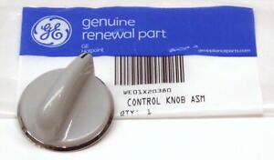 GE General Electric Dryer Knob Grey WE01X20380 AP5805162 PS8769914