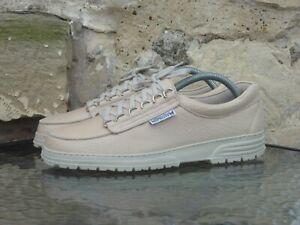 Mephisto Cruiser Comfort Shoes UK8 Cream Leather Rainbow Oi Pollloi