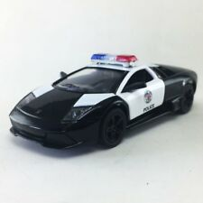 "New 5"" Kinsmart Lamborghini Murcielago LP640-4 Police Car Diecast Model 1:36 cop"