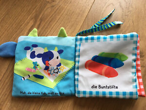 Buggybuch Stoffbuch Knisterbuch -NEUWERTIG-