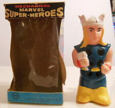 MARX Marvel Super-Heroes MIGHTY THOR WIND UP WALKER w ORIGINAL BOX 1968