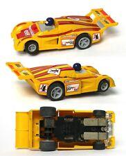 1978-80 LIGHTED Matchbox Speedtrack HO Slot Car Clean ELF RENAULT IMSA Unused A+