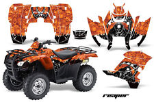ATV Graphics Kit Decal Sticker Wrap For Honda Rancher AT 2007-2013 REAPER ORANGE