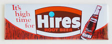 Hires Root Beer FRIDGE MAGNET (1.5 x 4.5 inches) soda sign bottle drink label