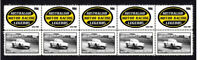 IAN GEOGHEGAN MOTOR RACING LEGEND STRIP OF 10 MINT VIGNETTE STAMPS LOTUS ELITE