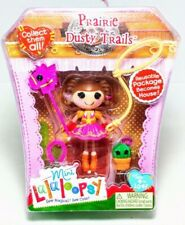 NEW! Mini Lalaloopsy Figure Doll Prairie Dusty Trails Sew Magical Accessories