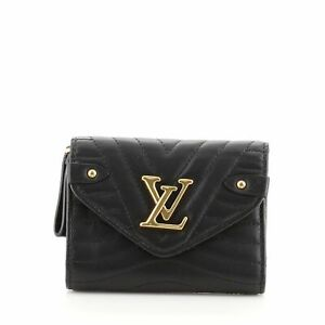 Louis Vuitton New Wave Compact Wallet Quilted Leather