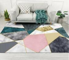 3D Graphics Marble Non-Slip Rug Door Shower Play Mat Hearth Floor Carpet 270