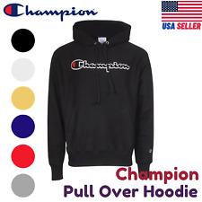 Champion GF68 Pullover Hoodie Embroidered Eco Fleece Active Sweatshirt