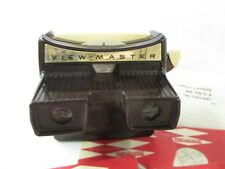 Vintage Lighted Bakelite Model F Viewmaster 3D Viewer Stereoscope W/Disks (CI)