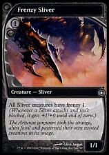 Frenzy Sliver, NM English x 4 Future Sight  mtg Low International Shipping
