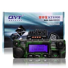 QYT KT-8900 Dual Band 25W VHF UHF Car Truck Mobile Transceiver Two Way Radio CAM