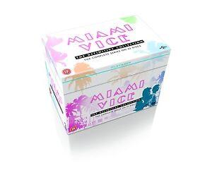 "MIAMI VICE DEFINITIVE COMPLETE SERIE COLLECTION DVD BOX SET 32 DISCS R4 ""NEW"""