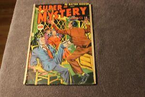 1947 (Vol 6, #6) Super-Mystery Comics golden age comic book