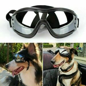 Pet Dog Sunglasses UV Goggles Adjustable Waterproof Eye Wear Protection Outdoor