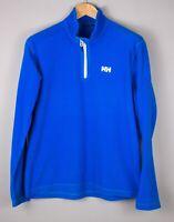 HELLY HANSEN Men Zip Fleece Jumper Sweater Size XL ATZ1212