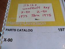 1973 HARLEY  AERMACCHI  X-90CC  WOODRUFF KEY   11212P  AMF