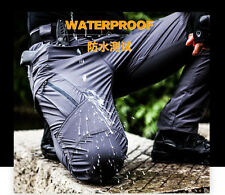 Men's Cargo Hiking Waterproof Trousers Tactical Combat Nylon Quick-Drying Pants