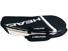 Head Professional Tennis Racquet Racket Carry Bag Black & White