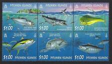 PITCAIRN ISLAND 2007 OCEAN FISH SET OF 4 UNMOUNTED MINT,MNH