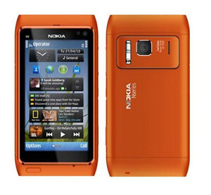 "NOKIA N8 16gb Rom Quad Core 3.5"" Screen 12mp Camera GPS Symbian Smartphone"