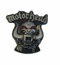 Motorhead Rock Band Name Logo Metal Enamel BELT BUCKLE