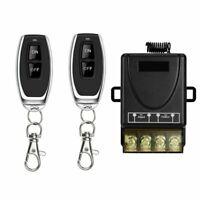 433Mhz 230V AC Handsender Lichtschalter Funk Ein-/Ausschalter Fernbedienung