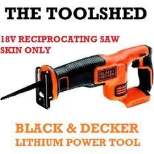 BLACK & DECKER CORDLESS RECIPROCATING SAW SKIN 18V LITHIUM BARE POWER TOOL DIY
