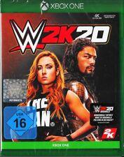WWE 2K20 inkl. W2k20 Originals - Xbox ONE - Neu & OVP - Deutsche Version