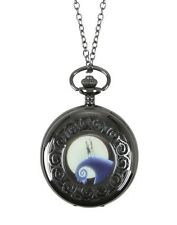 Disney The Nightmare Before Christmas Pocket Watch Necklace New With Tags!