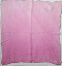 -Authentique Foulard tour de cou ESCADA soie TBEG  vintage scarf  53 x 58 cm