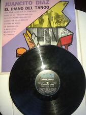 RARO TANGO LP 33 JUANCITO DIAZ EL PIANO DEL DM 70036 VG-/EX