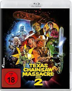 The Texas Chainsaw Massacre 2 Blu-ray FSK18 *NEU*OVP*