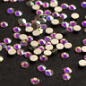 Flatback Rhinestones Crystal AB Non Hotfix Nail Art Decoration DIY Clothes