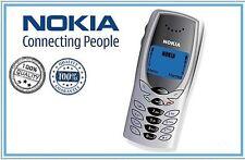 CELLULARE NOKIA 8250 TELEFONINO TELEFONO   NERO nuovo GARANZIA 12 MESI
